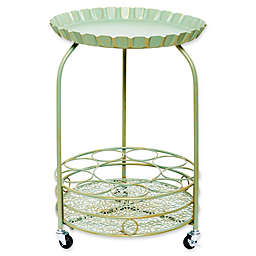Old Dutch International Pop Wine Serving Cart