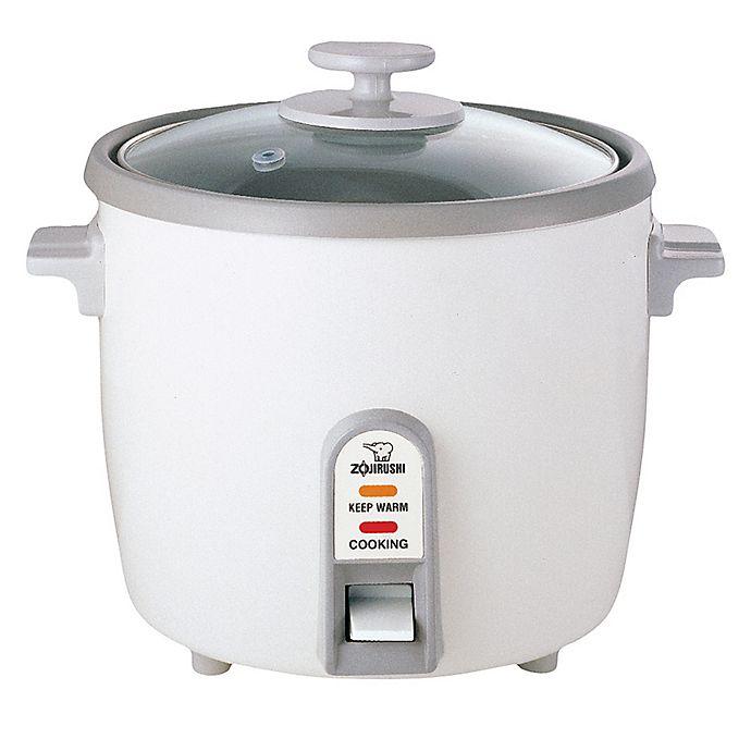 Alternate image 1 for Zojirushi 10-Cup Rice Cooker/Steamer/ Warmer