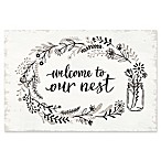 Welcome to Our Nest  I 16-Inch x 20-Inch Canvas Wall Art