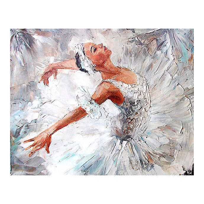 Alternate image 1 for Ballerina 9-Foot 10-Inch x 8-Foot 1-Inch Wall Mural