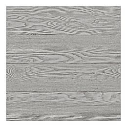 WallPops!® NuWallpaper™ Salvaged Wood Peel & Stick Wallpaper in Grey