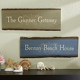 Our Family Getaway Basswood Plank Sign