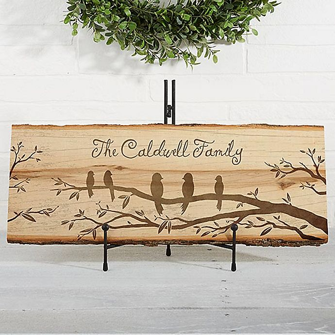 Alternate image 1 for Welcome to Our Nest Basswood Plank Sign