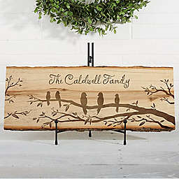 Welcome to Our Nest Basswood Plank Sign