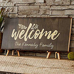 Cozy Home Basswood Plank Sign