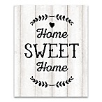 Home Sweet Home  16-Inch x 20-Inch Canvas Wall Art