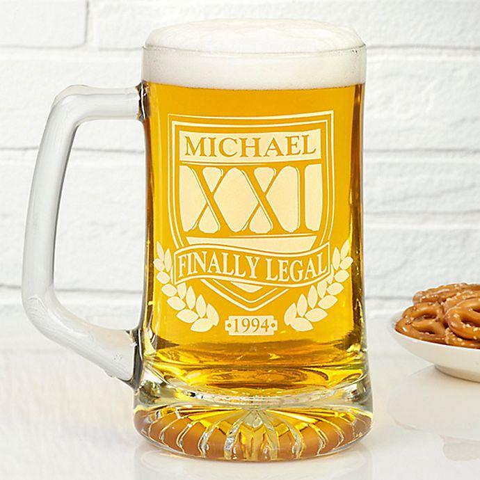 Alternate image 1 for Brewmasters 25 oz. Birthday Beer Mug