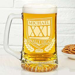 Brewmasters 25 oz. Birthday Beer Mug