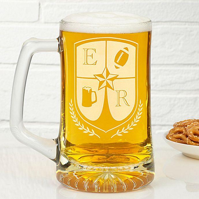 Alternate image 1 for My Crest 25 oz. Beer Mug
