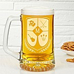 My Crest 25 oz. Initial Beer Mug