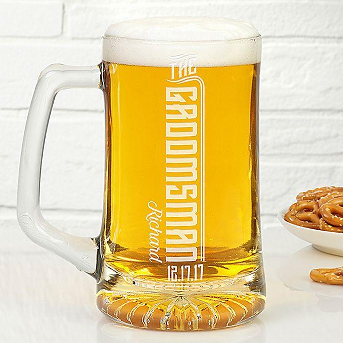 Alternate image 1 for I Do Crew 25 oz. Groomsman Beer Mug