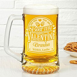 Beer My Valentine 25 oz. Beer Glass
