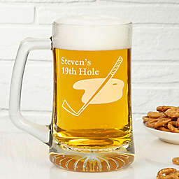 The 19th Hole 25 oz. Glass Mug