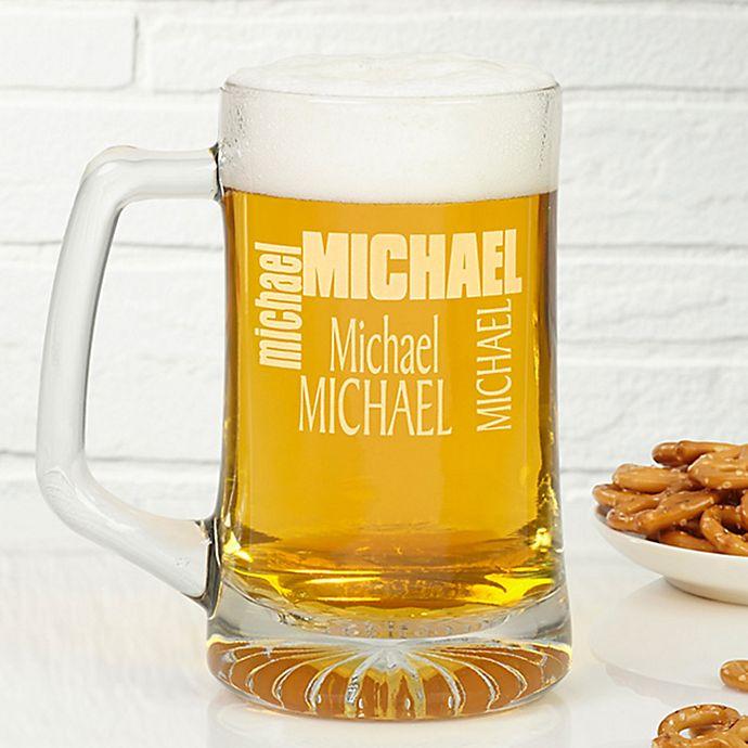 Alternate image 1 for Just For You 25 oz. Beer Mug