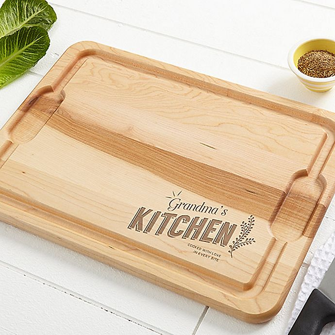 Alternate image 1 for Her Kitchen XL 15-Inch x 21-Inch Cutting Board