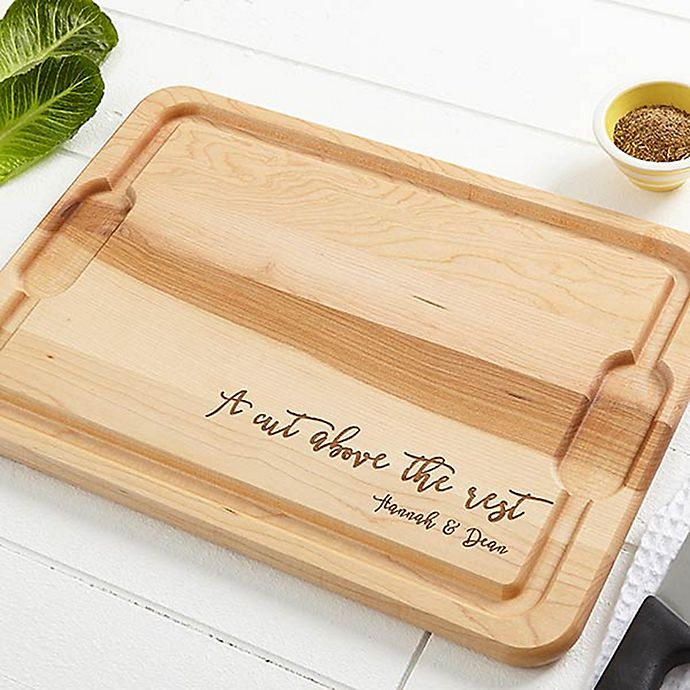 Alternate image 1 for Kitchen Expressions XL 15-Inch x 21-Inch Cutting Board