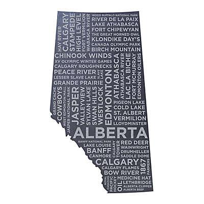 Top Shelf Living Alberta Etched Slate Cheese Board