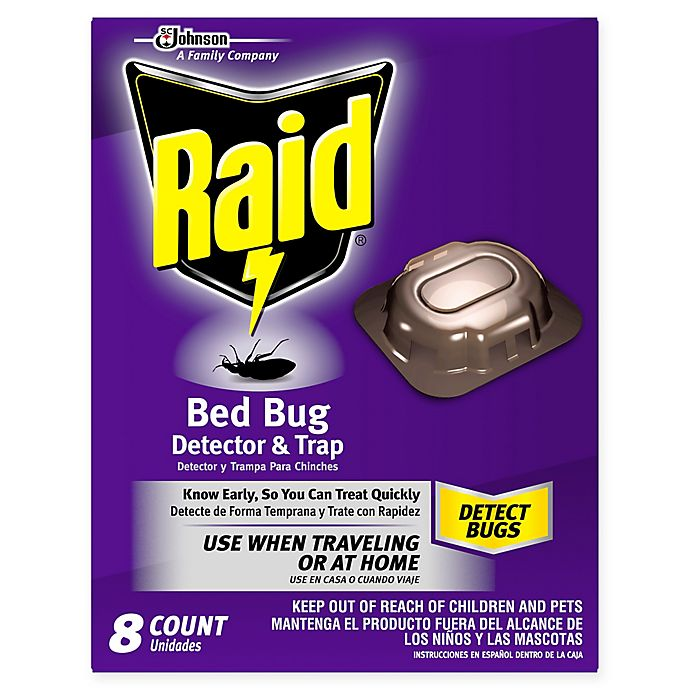 Raid 8 Count Bed Bug Detector Trap Bed Bath Beyond