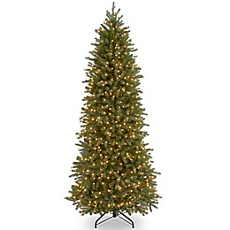 National Tree Company® Pre-Lit Jersey Fraser Fir Artificial Pencil Slim Tree