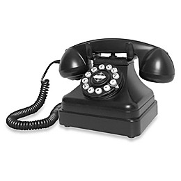 Crosley CR62 Kettle Classic Desk Phone - Black