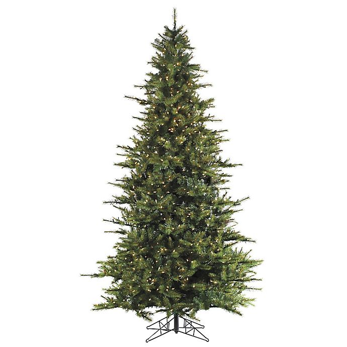 Alternate image 1 for Fraser Hill Farm Southern Peace Pine Pre-Lit Artificial Christmas Tree with Clear Lights