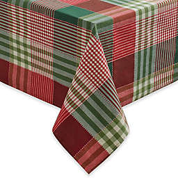 Holiday Check Tablecloth