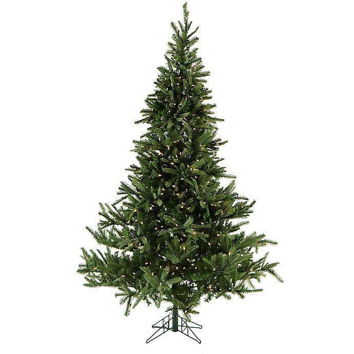 Fraser Hill Farm 12-Foot Foxtail Pine Pre-Lit Artificial ...