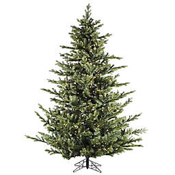 Fraser Hill Farm 9-Foot Foxtail Pine Pre-Lit Artificial Christmas Tree with Clear Lights