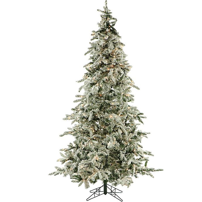 Where To Buy A Pre Lit Christmas Tree: Buy Fraser Hill Farm 9-Foot Pre-Lit Clear LED Flocked