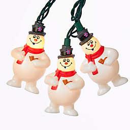 Kurt Adler 11.5-Foot 10-Light Frosty the Snowman Light Set