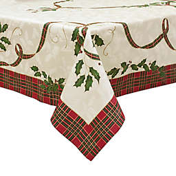 lenox holiday nouveau melody tablecloth - Christmas Placemats And Napkins