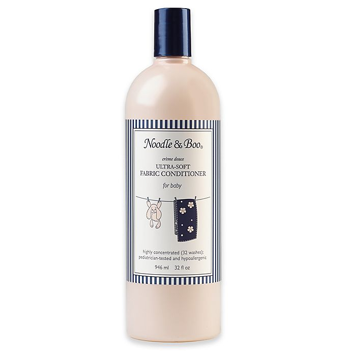 Alternate image 1 for Noodle & Boo® 32 oz. Ultra-Soft Fabric Conditioner in Crème Douce