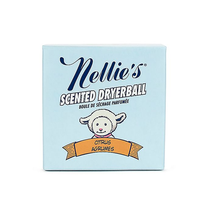 Alternate image 1 for Nellie's All-Natural Citrus Scented Wool Dryerball