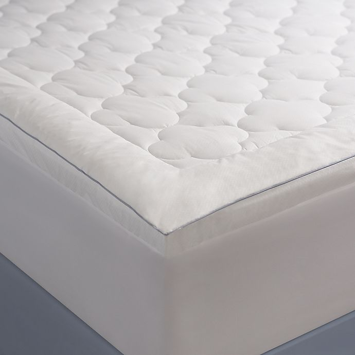 Alternate image 1 for Allied Home Climate Cool Twin Mattress Pad in White