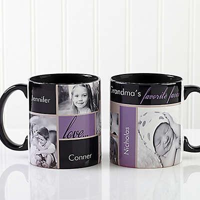 My Favorite Faces 11 oz. Photo Coffee Mug