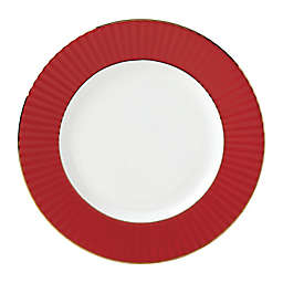 Lenox® Pleated Colors Dinner Plate in Red
