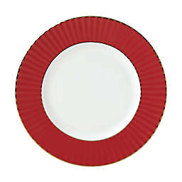 Lenox® Pleated Colors Salad Plate in Red