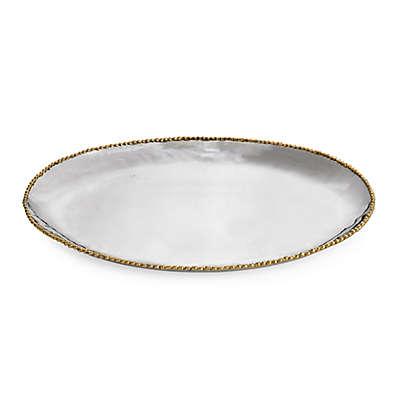 Michael Aram Molten Gold 15.5-Inch Oval Platter