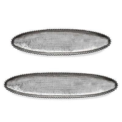 Michael Aram Molten Frost Long Oval Dish