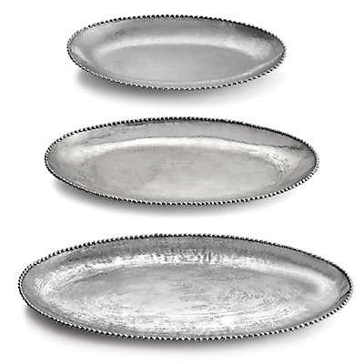 Michael Aram Molten Frost Oval Platter