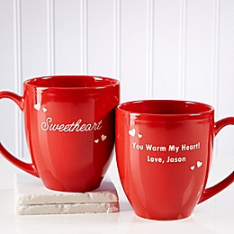 Loving Nickname 14.5 oz. Red Bistro Mug