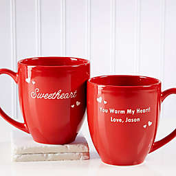 Loving Nickname 14.5 oz. Red Bistro Mug
