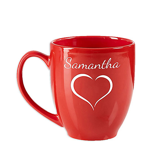 Alternate image 1 for Valentine Cheer 14.5 oz. Red Bistro Mug