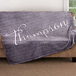 Together Forever 50-Inch x 60-Inch Fleece Throw Blanket