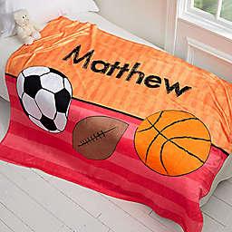 Just For Him Fleece Throw Blanket