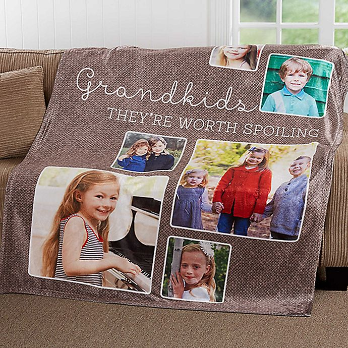 Alternate image 1 for They're Worth Spoiling 60-Inch x 80-Inch Fleece Throw Blanket
