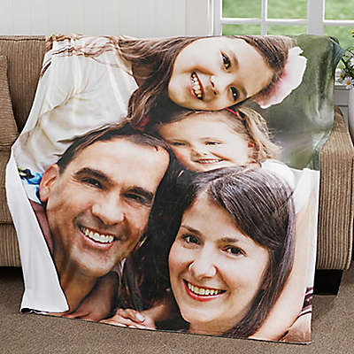 Picture Perfect 60-Inch x 80-Inch Fleece Throw Blanket