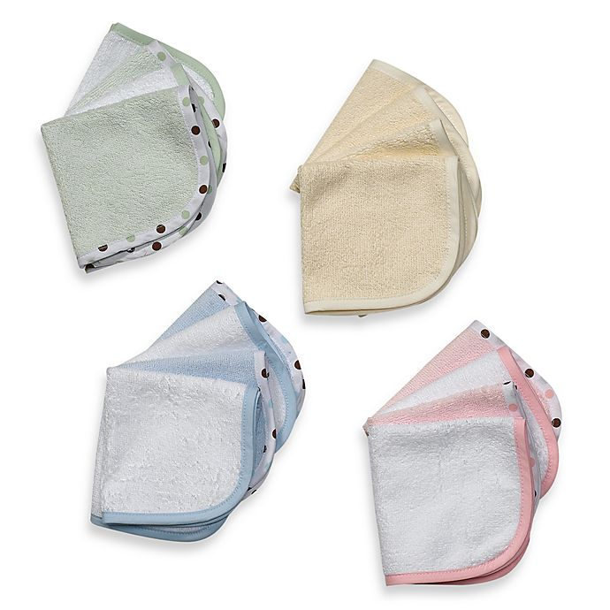 Alternate image 1 for TL Care® Organic Washcloth (Set of 4)