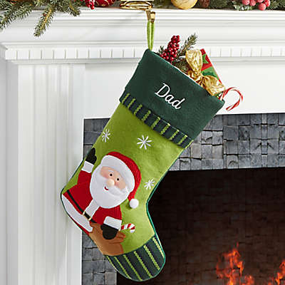 Christmas Family Santa Christmas Stocking