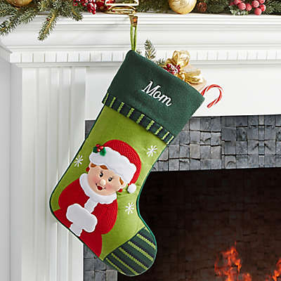 Christmas Family Mrs. Claus Christmas Stocking